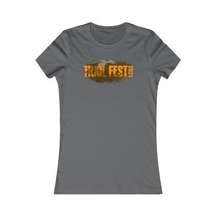 Women's Favorite Tee - Trail Fest Design 01