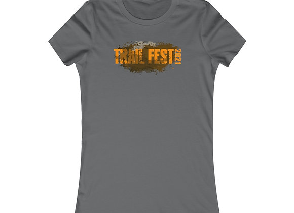 Women's Favorite Tee - Trail Fest Design 01