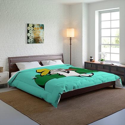 King Size Comforter - Poppy Mtn Design 02 Teal