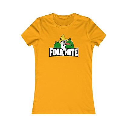 Women's Favorite Tee - Folk Nite