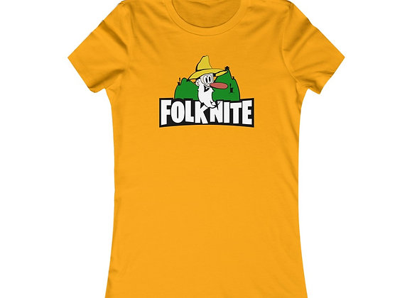 Women's Favorite Tee - Folk Nite