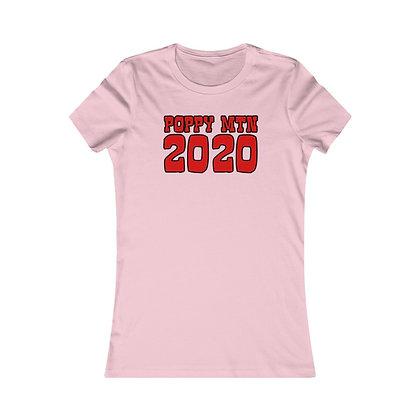 Women's Favorite Tee - Happy Poppy 2020