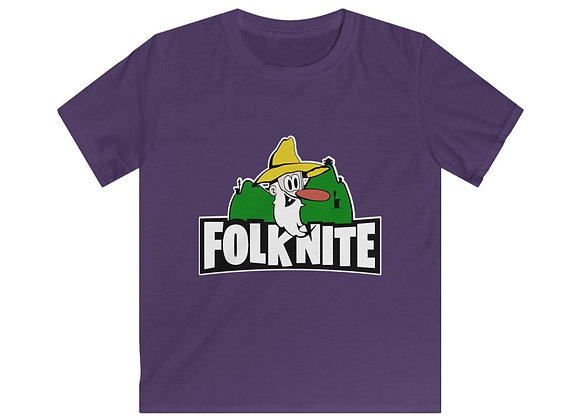 Kids Softstyle Tee - Folk Nite