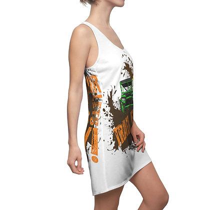Women's Cut & Sew Racerback Dress - Trail Fest Design 02