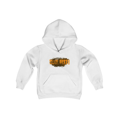 Youth Heavy Blend Hoodie - Trail Fest Design 02 2 Sided Print
