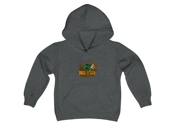 Youth Heavy Blend Hoodie - Trail Fest Design 02