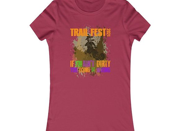 Women's Favorite Tee - Trail Fest Design 03