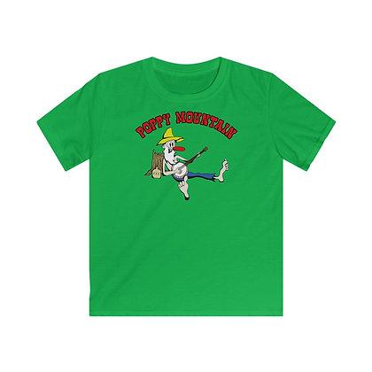 Kids Softstyle Tee - Poppy Mtn Design 02
