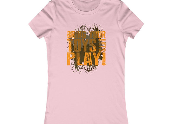 Women's Favorite Tee - Trail Fest Design 08