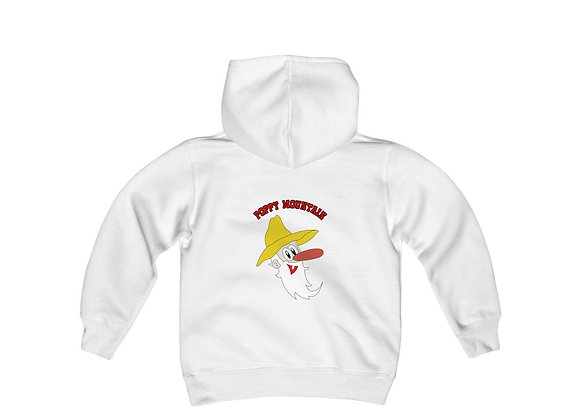 Youth Heavy Blend Hoodie - Toon Poppy Mtn  2 Sided Print