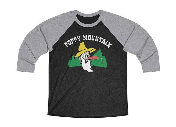 Unisex Baseball Tee - Poppy Mtn Design 01