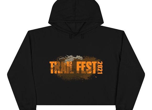 Crop Hoodie - Trail Fest Design 01