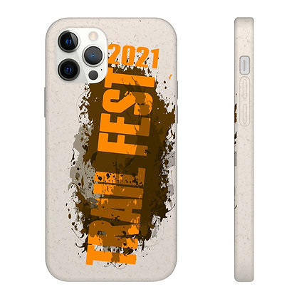 Samsung and iPhone Biodegradable Case - Trail Fest 2021 Design 01