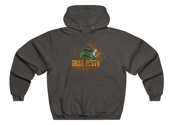 Men's NUBLEND® Hooded Sweatshirt - Trail Fest Design 02 2 Sided Print