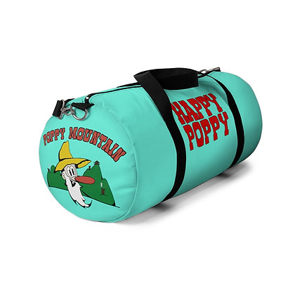Duffel Bag - Poppy Mtn Design 01Teal