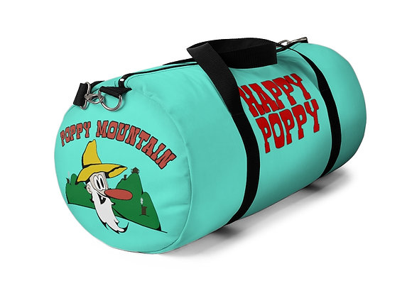 Duffel Bag - Poppy Mtn Design 01Teal