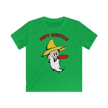 Kids Softstyle Tee - Poppy Mtn Design 03