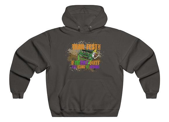 Men's NUBLEND® Hooded Sweatshirt - Trail Fest Design 03