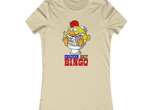 Women's Favorite Tee - Chicken Sh!t Bingo