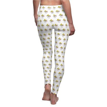 Women's Leggings - Poppy Pattern