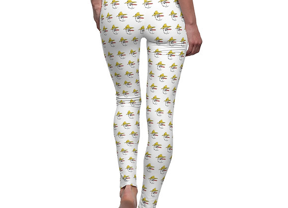 Women's Leggings - Poppy Pattern