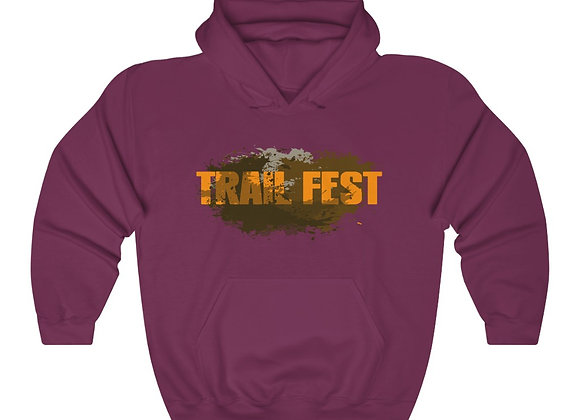 Unisex Heavy Blend™ Hoodie - Trail Fest 2 Sided Print