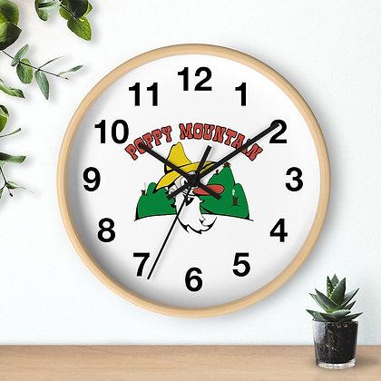 Wall clock - Poppy Mtn Design 01