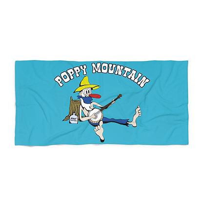Beach Towel - Poppy Mtn Covid-19 Towel