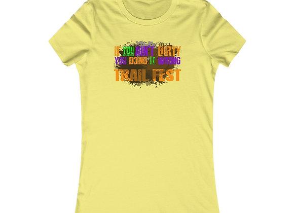 Women's Favorite Tee - Trail Fest Design 06