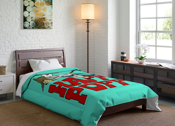 Comforter - Poppy Mtn Design 01 Teal