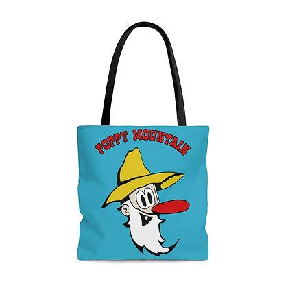 AOP Tote Bag - Poppy Mtn
