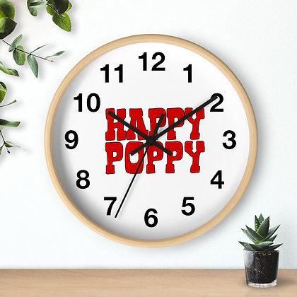 Wall clock - Poppy Mtn Design 06