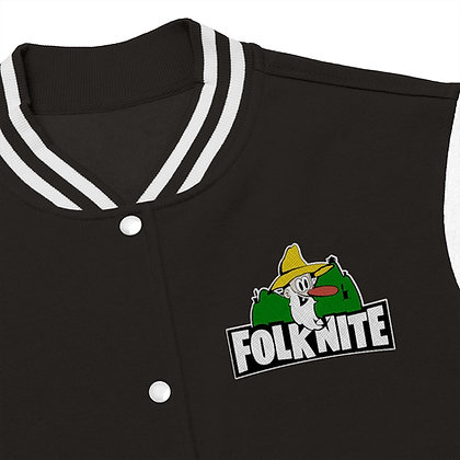 Women's Varsity Jacket - Folk Nite
