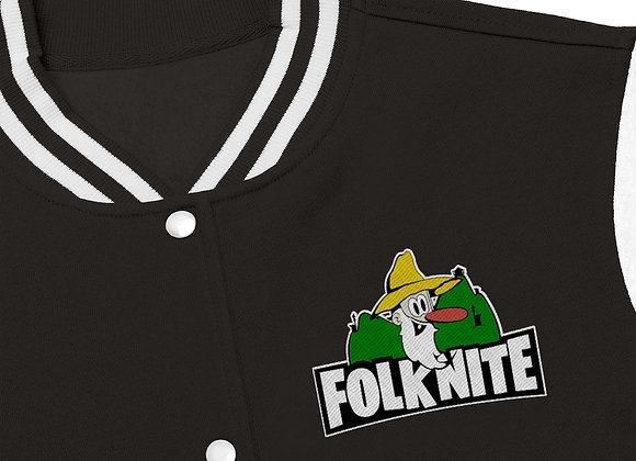 Women's Varsity Jacket - Folk Nite