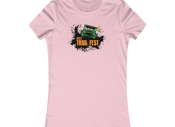 Women's Favorite Tee - Trail Fest Design 02