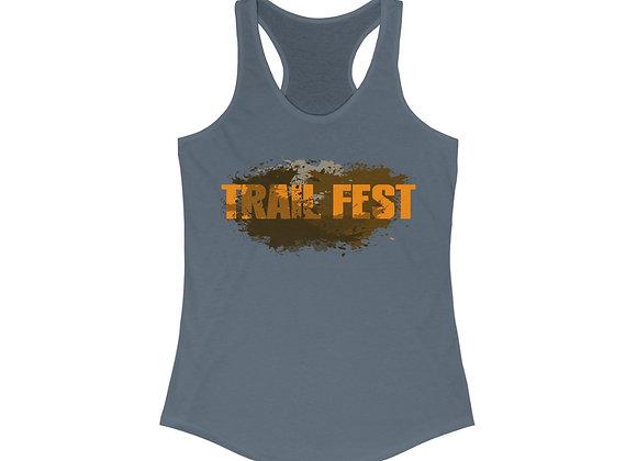 Women's Ideal Racerback Tank - Trail Fest