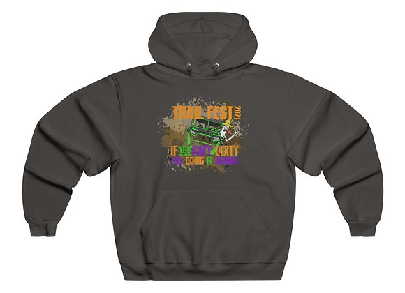 Men's NUBLEND® Hooded Sweatshirt - Trail Fest Design 03 2 Sided Print