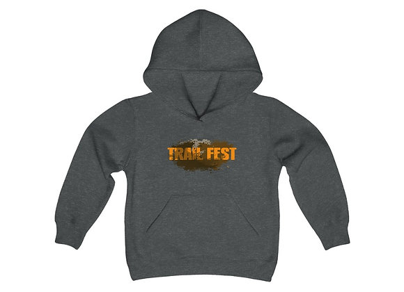 Youth Heavy Blend Hoodie - Trail Fest