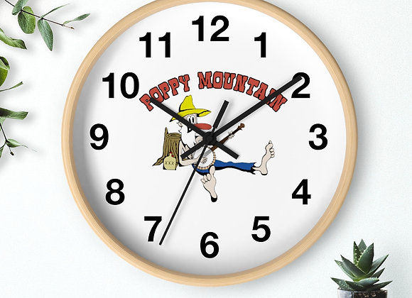 Wall clock - Poppy Mtn Design 02