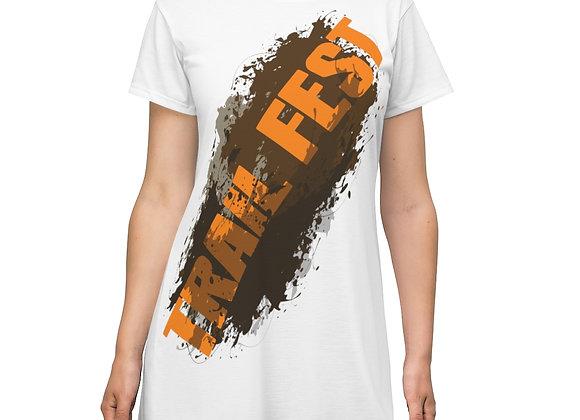 Women's T-Shirt Dress - Trail Fest