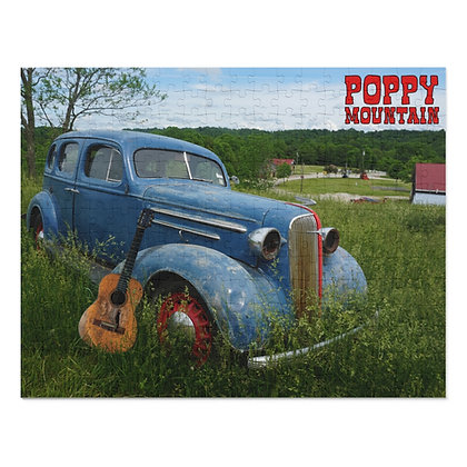 252 Piece Puzzle - Poppy Mountain Car 01