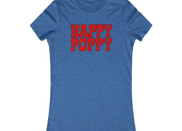 Women's Favorite Tee - Happy Poppy