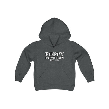 Youth Heavy Blend Hoodie - Est 1992 White