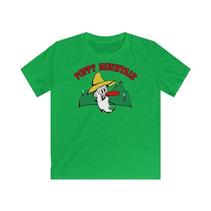 Kids Softstyle Tee - Poppy Mtn Design 01
