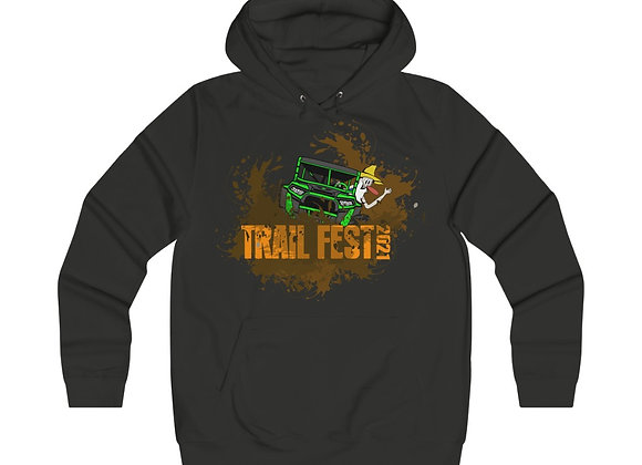 Girlie College Hoodie 2 Sided Print - Trail Fest Design 03-1