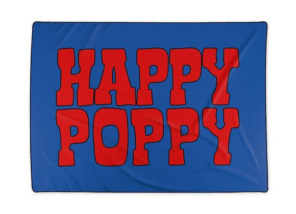 Polyester Blanket - Poppy Mtn Design 06 Navy Blue
