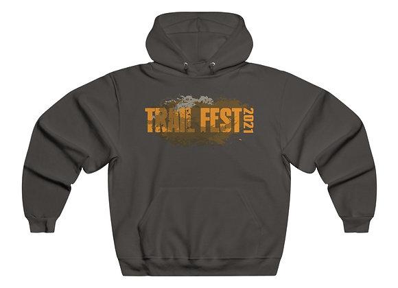 Men's NUBLEND® Hooded Sweatshirt - Trail Fest Design 01 2 Sided Print