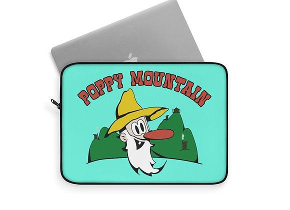 Laptop Sleeve - Poppy Mtn Design 01 Teal