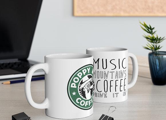 Poppy Mtn Coffee MM&C Mug 11oz