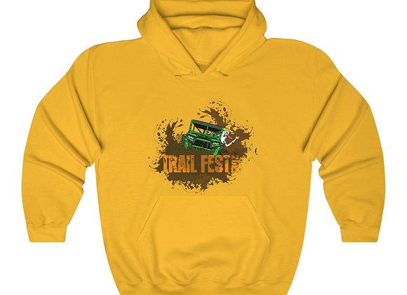 Unisex Heavy Blend™ Hoodie - Trail Fest Design 02 2 Sided Print